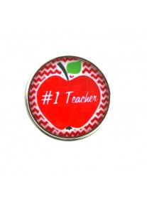 Chic Snap #1 Teacher Red Apple
